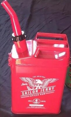 Sailor Jerry Spiced Rum Gas Can Decanter Rare! NEW