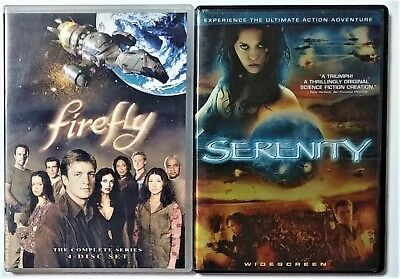 Firefly - The Complete Series & Serenity (DVD, 5-Disc Set) Nathan Fillion
