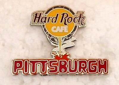 Hard Rock Cafe Pittsburgh Logo Pouring Molten Steel Pin Le
