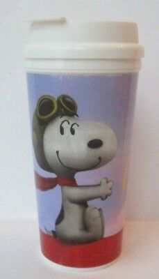 Mcdonald's Snoopy Peanuts Movie Whirley 16 Oz. Insulated Tumbler Cup