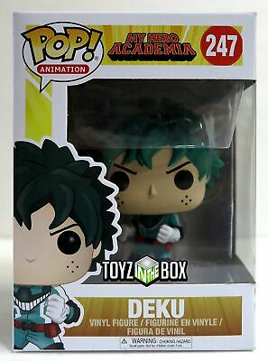 "In STOCK Funko Pop My Hero Academia ""Deku"" 247 Vinyl Figure"