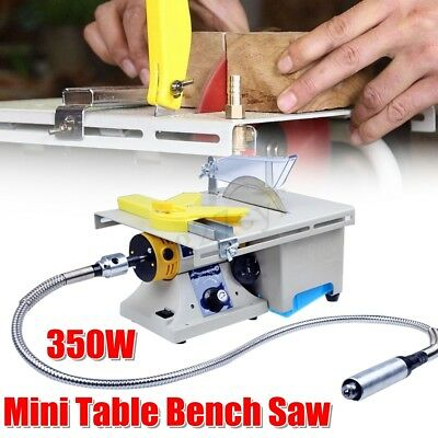 350W Craftsman  Bench Top Table Saw Electric Wood Cutting Polishing Carving Mach