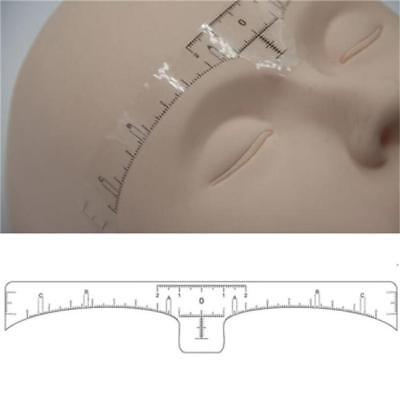 Disposable Permanent Eyebrow Stencil Makeup Microblading Measure Tattoo Ruler LJ
