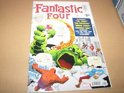 fantastic four #1  Marvel 2018 Facsimile Edition 1962 reprint nm/mint