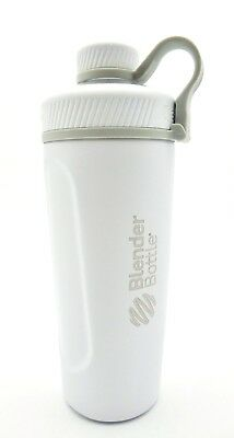 BlenderBottle Radian Insulated Stainless Steel Shaker Bottle, Matte White, 26-Ou