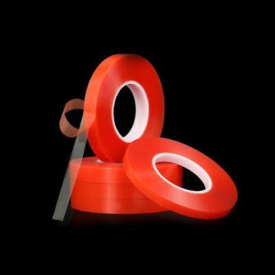 RED Double Sided Super Sticky Heavy Duty Adhesive Tape For Cell Phone Repair FD