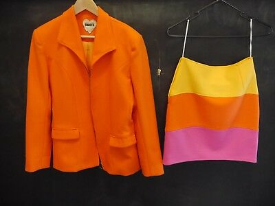 Vintage 60's inspired two piece Skirt Suit, Size 6