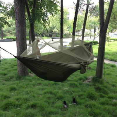 Extra High Portable Strength Wi Mosquito Net Camping Hammock Durable Travel Bed