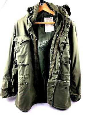 f8fbd4aa2d3 NATO GENUINE VTG U.S Army M51 Military Parka Jacket Green – Small ...
