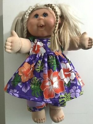 dolls clothes for baby born or cabbage patch doll 43 cm  dress