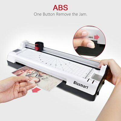 Thermal Portable Laminator A4 Machine Home 10 Pouches Photo Card Picture US Plug