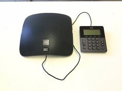CISCO CP-8831 VoIP Expandable Conference Phone + CP-8831-DCU-S & Power Adapter