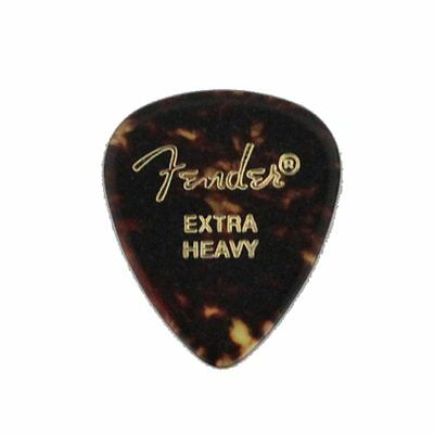 New Fender 451 Shape Picks Shell Extra Heavy GUITAR PICKS F/S From JAPAN