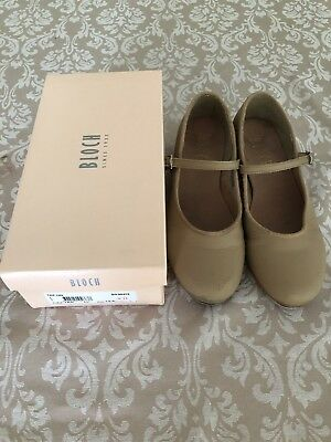 Bloch Tap Shoes Tan Size 13.5 Young Child