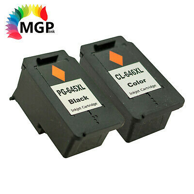 2X Compatible Canon PG 645XL CL 646XL High Yield Ink  for PIXMA MG2560  MG2460