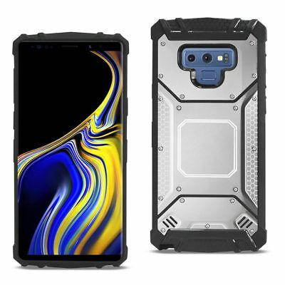 Samsung Galaxy Note 9 Metallic Front Cover Case In Silver