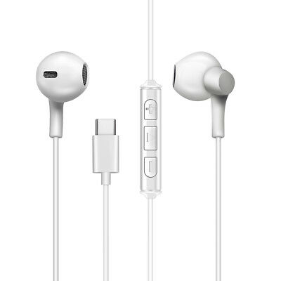 MT-H212 Stereo Universal Earphone In White