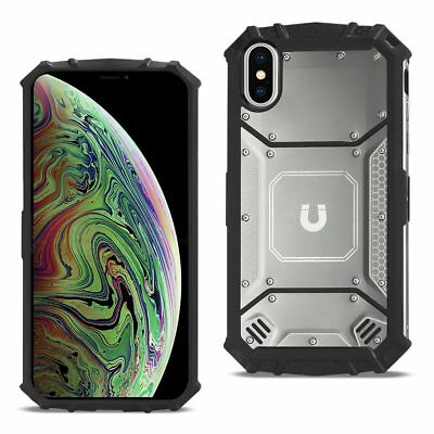iPhone XS MAX Metallic Front Cover Case In Gary