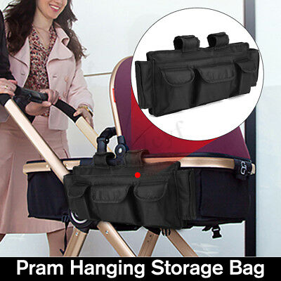 600D Storage Bag Organizer Wheelchair Walker Electric Scooter Travel Carry Pouch