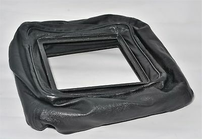 *Rare* 152x152mm Leather 4x5 Wide Angle Bag Bellows from Japan Free Shipping