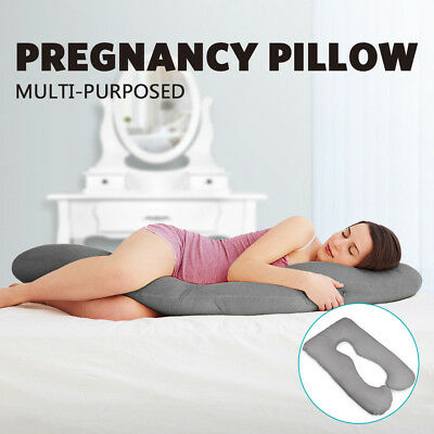 AUS Made Pregnancy Pillow Maternity Nursing Sleeping Body Support Feeding Baby