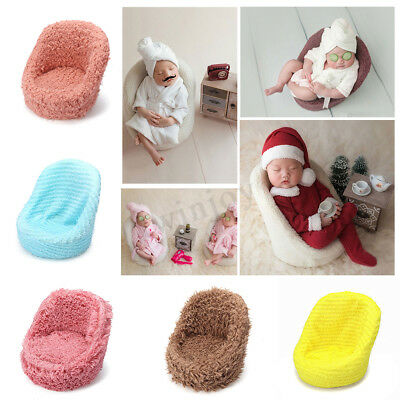 Mini Newborn Photography Props Baby Posing Sofa Soft Chair Backdrop Model Decor