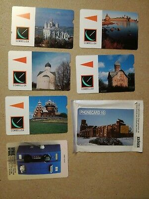 TK Telephonkarte/Phone  Set of 7 new neu Rußland russia