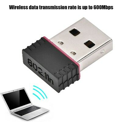 Mini USB 600Mbps 2.4Ghz 802.11n/g/b WiFi Network Adapter WLAN Wireless Dongle