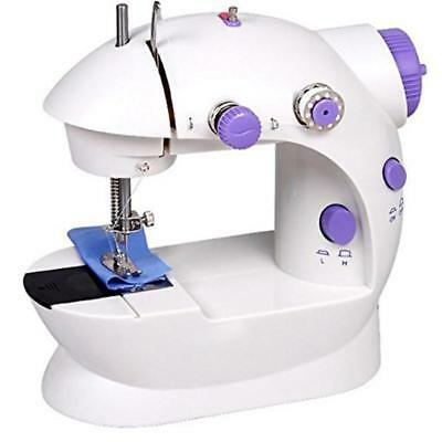 Mini Portable Hand-held Clothes Sewing Machine Home Use Travel LED UK Seller