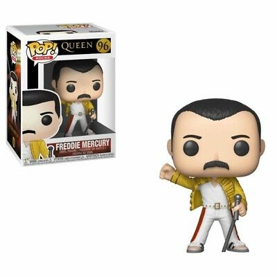Pré-commande Queen POP! Rocks Vinyl Figurine Freddy Mercury Wembley 1986 9 cm