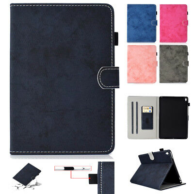 "Shockproof Smart Leather Stand Card Cover Case For iPad 9.7""2017 Mini 34 Air 1 2"