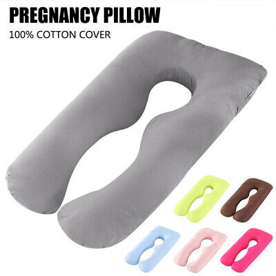 Aus Made Maternity Pillow Pregnancy Nursing Sleeping Body Support Feeding cover