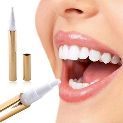 Gold Teeth Whitening Pen Gel Tooth Bleaching Pen Dental Tooth Whitener JDUK