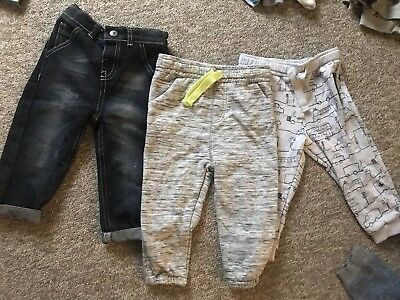 boys clothes 18-24 months Trousers Bundle F&F