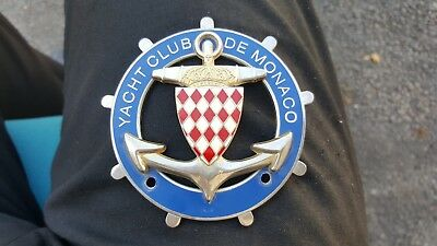 Badge Du Yacht Club De Monaco