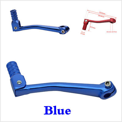 Blue Motorcycle CNC Folding Gear Shift Lever For 50cc-125cc 4-stroke Dirt Bike