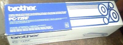 Genuine Brother Pc-72Rf  2 Roll Fax Refills - New -  (R1)
