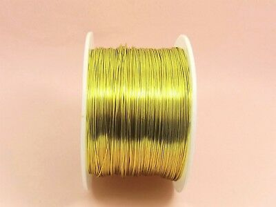 5 M x KC GOLD Tarnish Resistant COPPER Brass Artistic Beading WIRE for Craft DIY