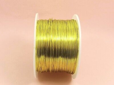 5M x KC GOLD Tarnish Resistant COPPER Brass Artistic Craft Beading WIRE 0.3-1mm