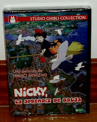 Nicky The Apprentice's Witch Dvd New Sealed Studio Ghibli (Unopened) R2