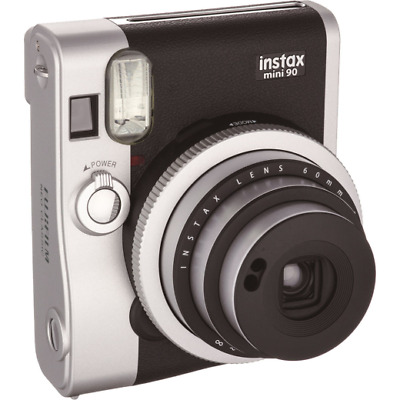 Fujifilm Instax Mini 90 Neo Classic Instant Film Camera: Black