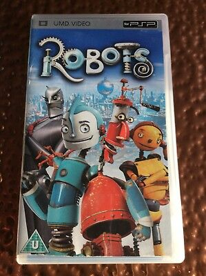 PSP UMD Video Films ROBOTS cert U