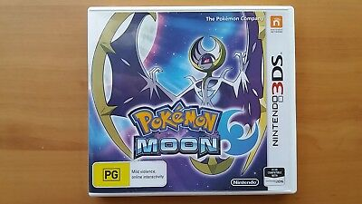 Pokemon Moon - Nintendo 2DS 3DS - Free Shipping!
