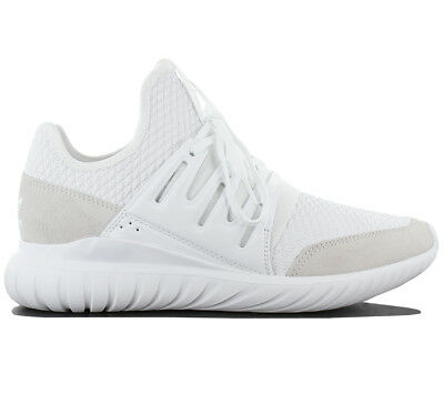 cheap for discount a3cea bb45d Adidas Originals Tubular Radial Sneaker Scarpe Uomo Bianco Tessile pelle  BB2398