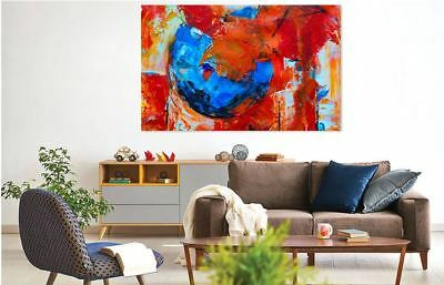 ABSTRACT WATERCOLOR WALL DECOR BEAUTIFUL PictureS Art Canvas choose your size