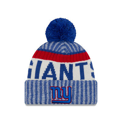 New York Giants Beanie NFL Football New Era Sideline Beanie One Size Wintermütze