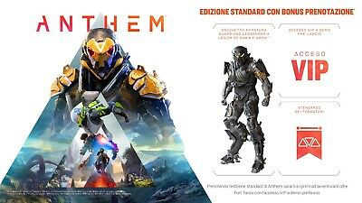 Anthem Beta VIP Access PC-XBOX ONE-PS4