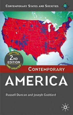 Contemporary America (Contemporary States and Societies Series) .9781403948649