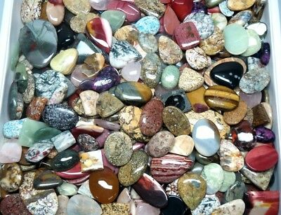 500Cts. Top Quality Mix Wholesale Lot Natural Mix Gemstone Cabochon 2933