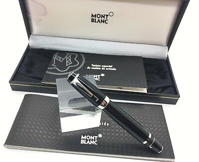 Fountain Pen MONTBLANC Boheme 14K Gold retractable nib - Black Stone - Boxed